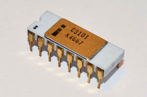 The five silicon chips with which Intel changed our world: 3101
