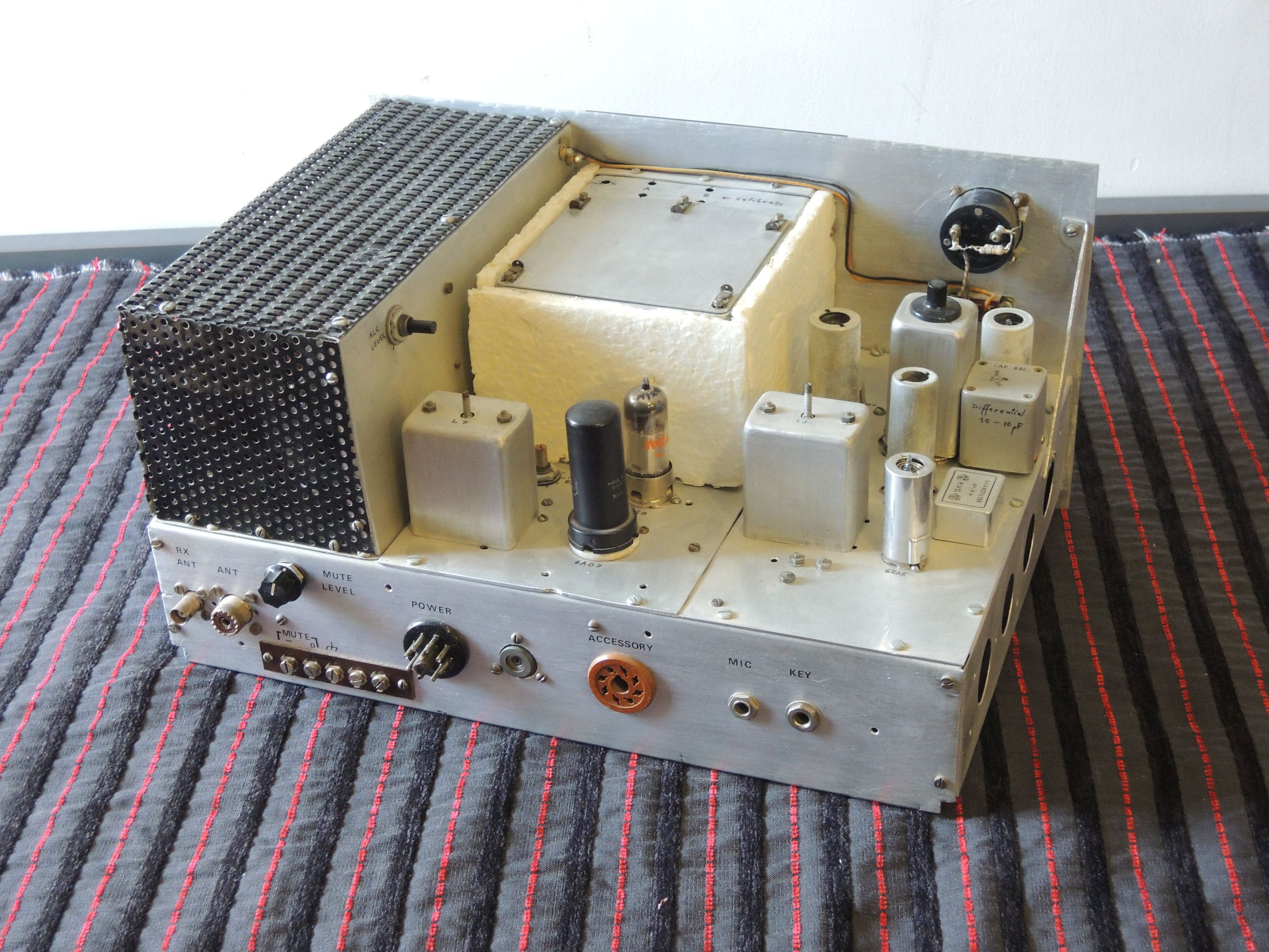 Design And Construction Of A Homebrew Single Sideband Amateur Radio How To Build Simple Am Transmitter Ssb